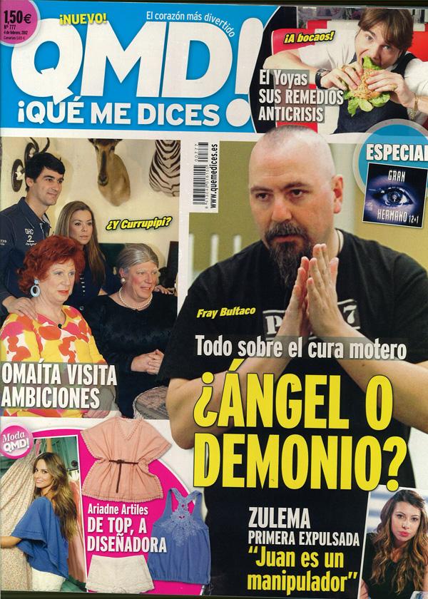Que me dices portada 30 enero 2012