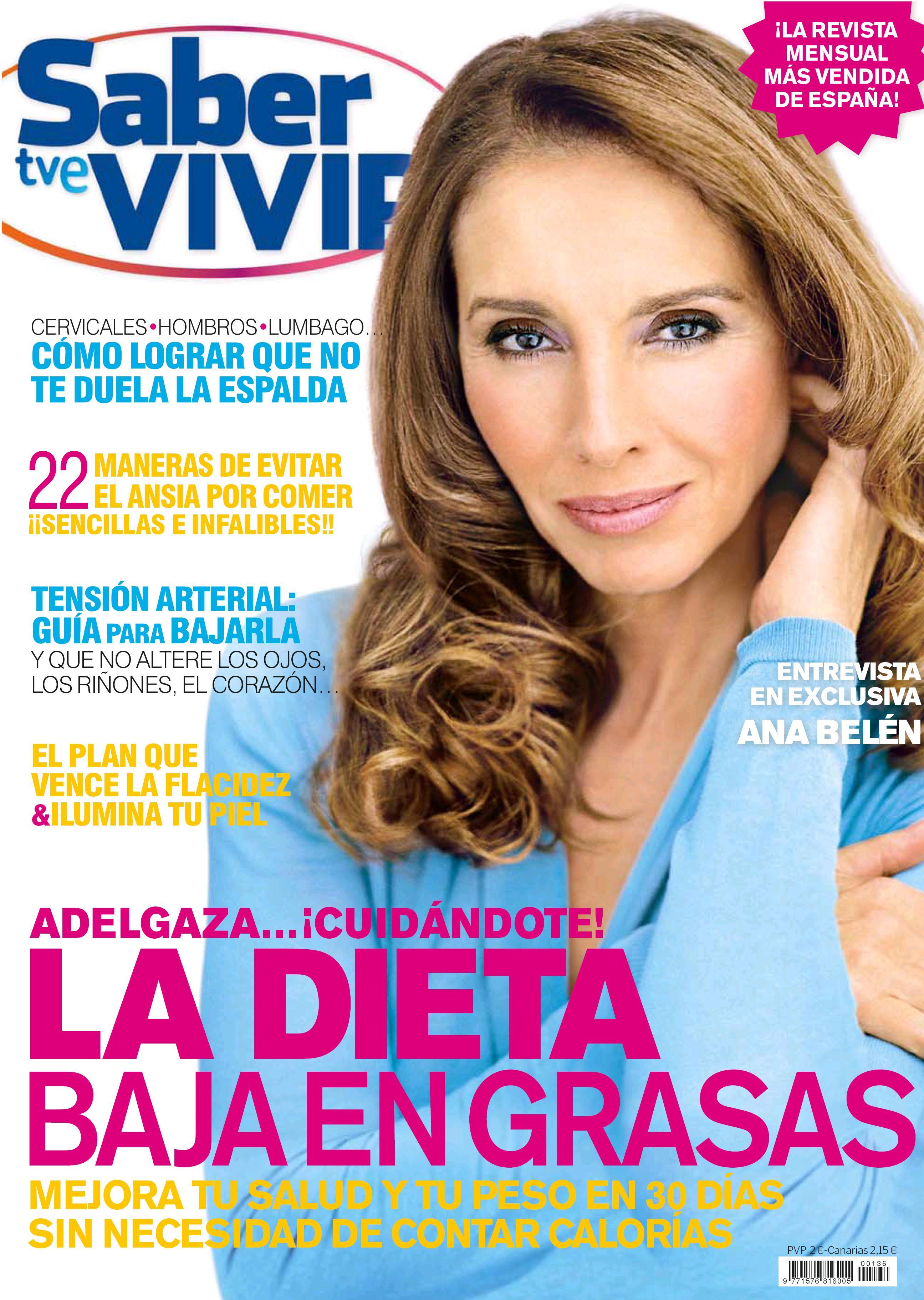 Saber Vivir portada febrero 2012