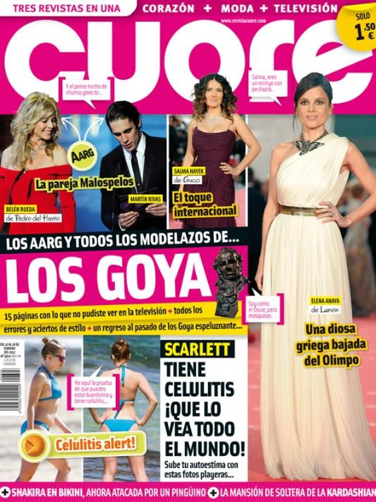 CUORE portada 22 febrero 2012