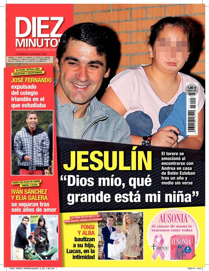 DIEZ MINUTOS portada 1 de febrero 2012