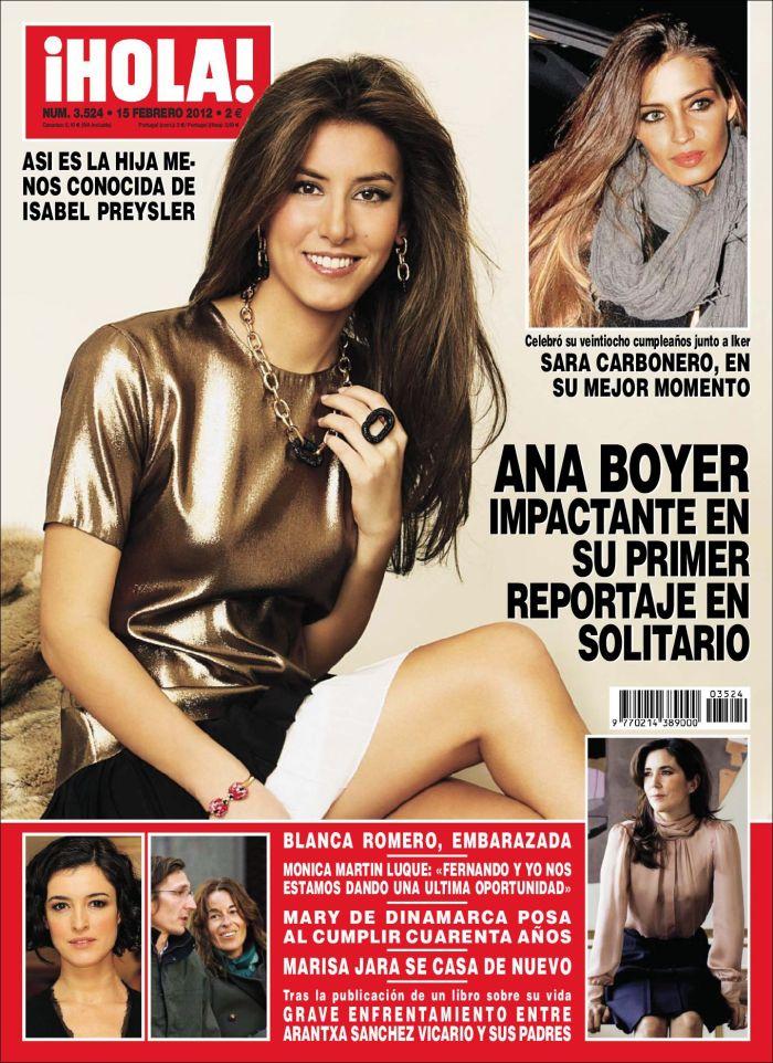 HOLA portada 8 febrero 2012