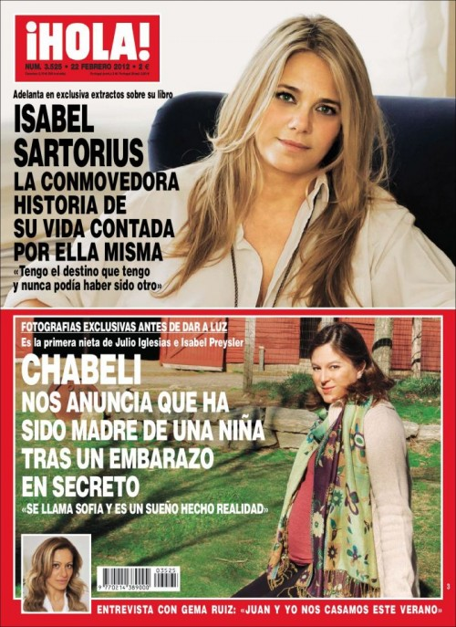 HOLA portada 15 febrero 2012