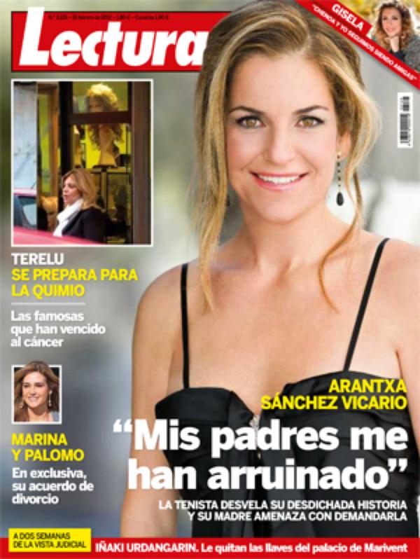 LECTURAS portada 8 febrero 2012