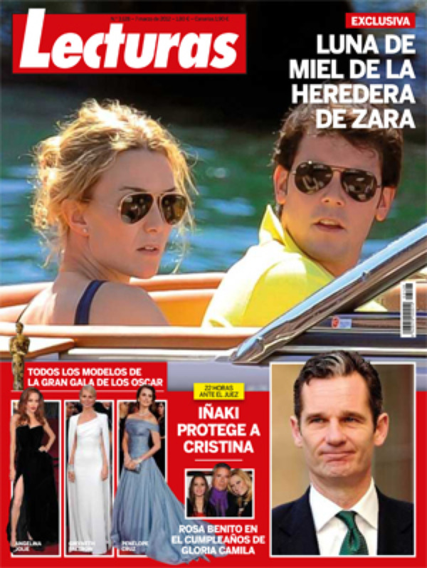 LECTURAS portada 29 febrero 2012