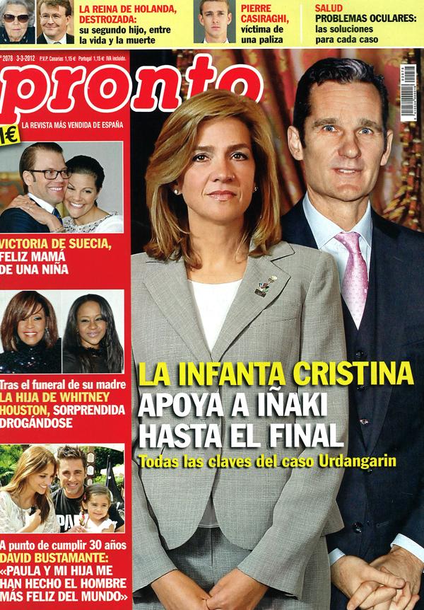 PRONTO portada 27 febrero 2012