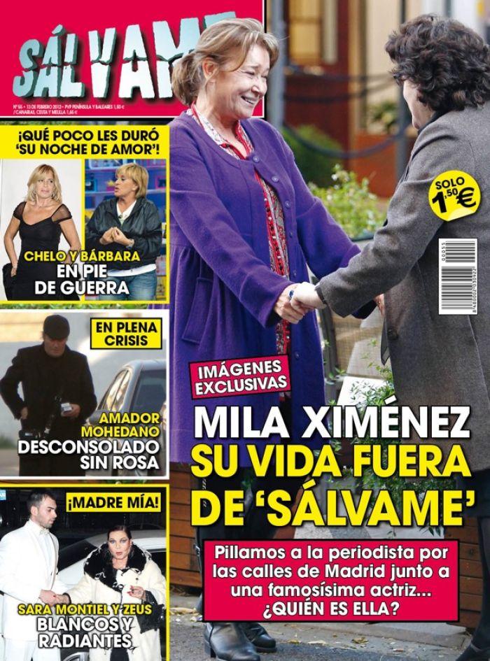 SALVAME portada 8 febrero 2012