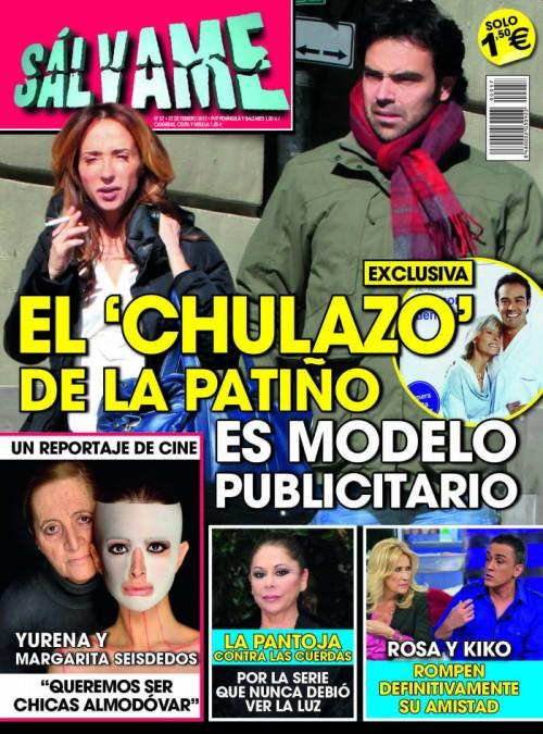 SALVAME portada 22 febrero 2012