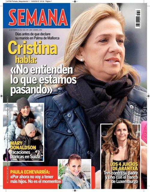 SEMANA portada 15 febrero 2012