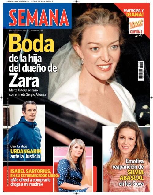 SEMANA portada 22 febrero 2012