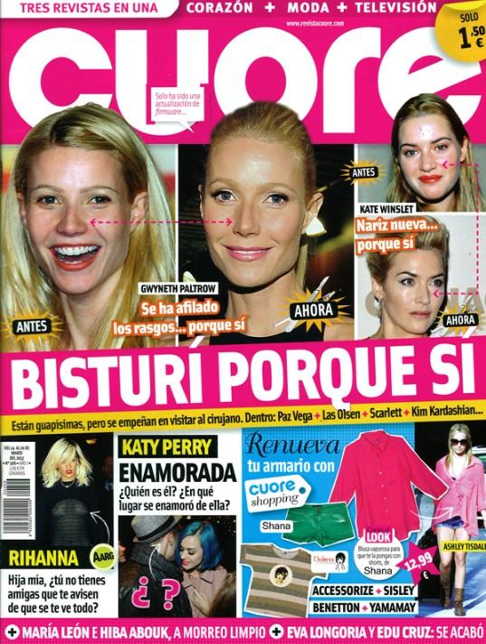 CUORE portada 14 marzo 2012