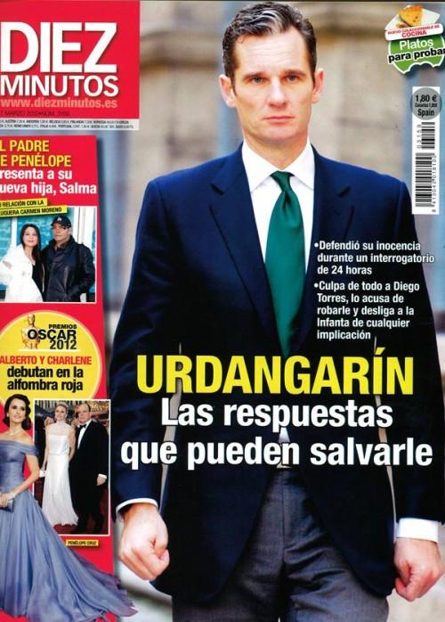 DIEZ MINUTOS portada 29 febrero 2012