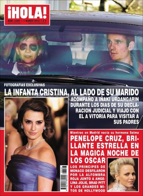 HOLA portada 29 febrero 2012