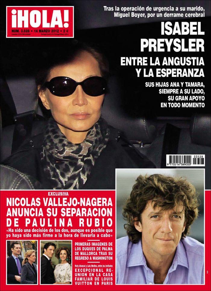 HOLA portada 7 marzo 2012