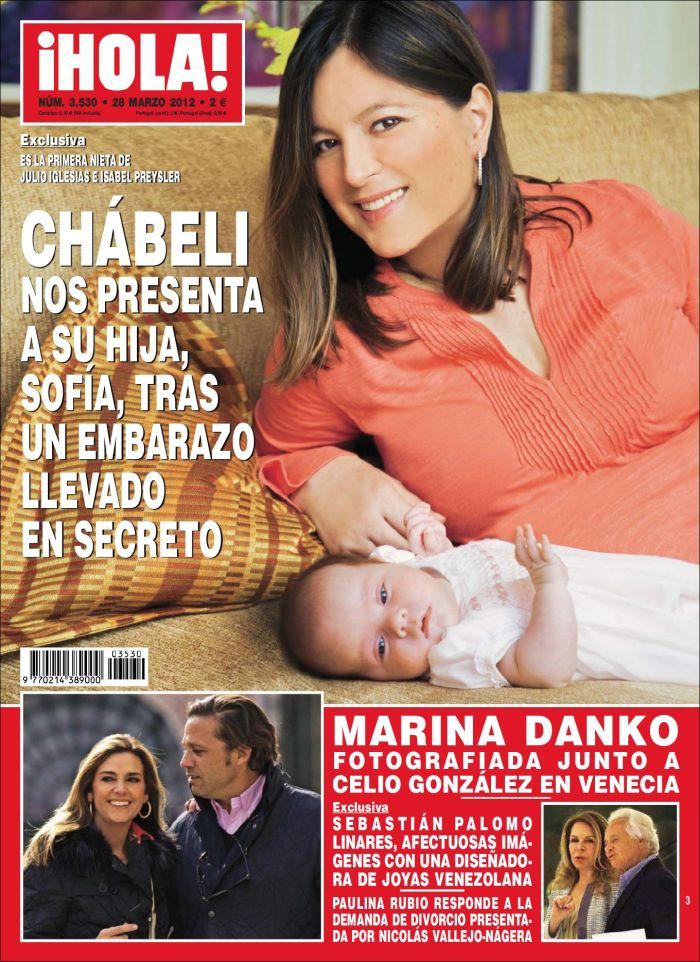 HOLA portada 21 marzo 2012