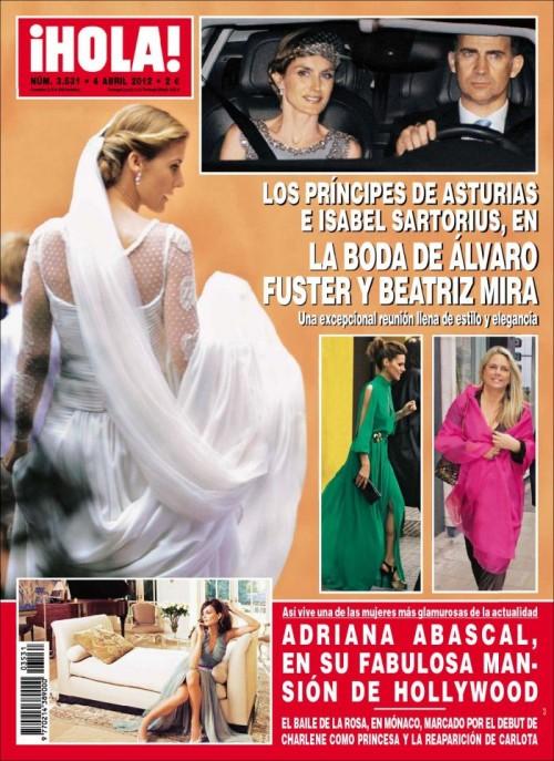 HOLA portada 28 marzo 2012