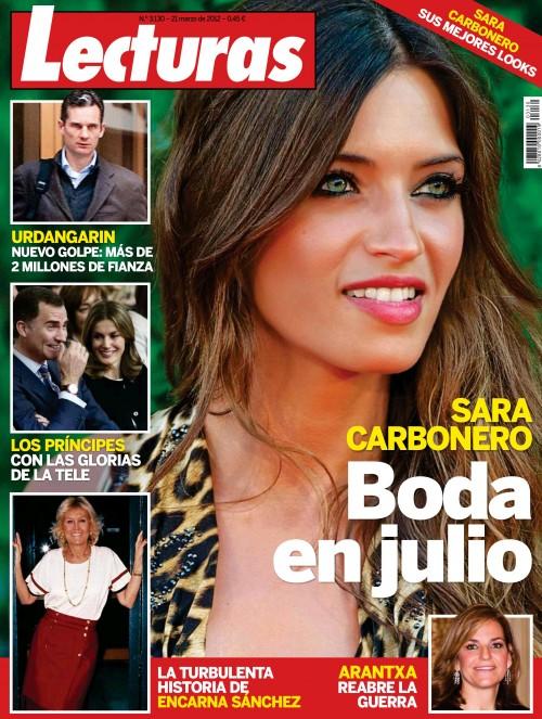 LECTURAS portada 14 marzo 2012