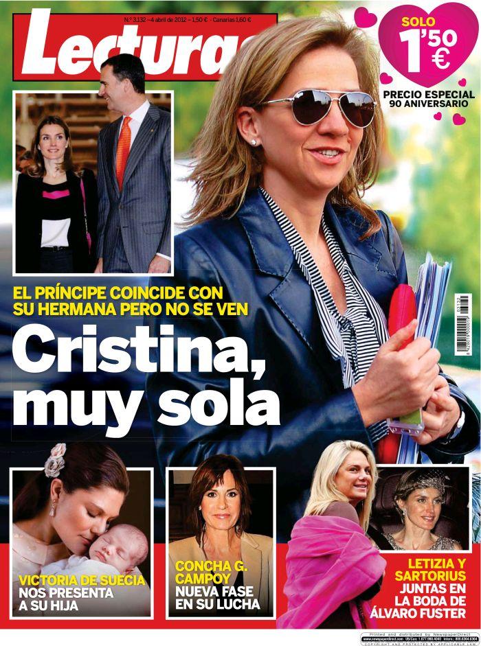 LECTURAS portada 28 marzo 2012
