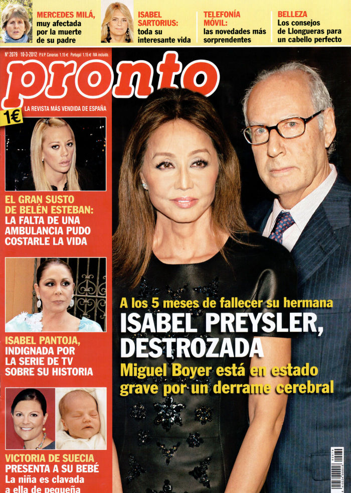 PRONTO portada 5 de marzo de 2012