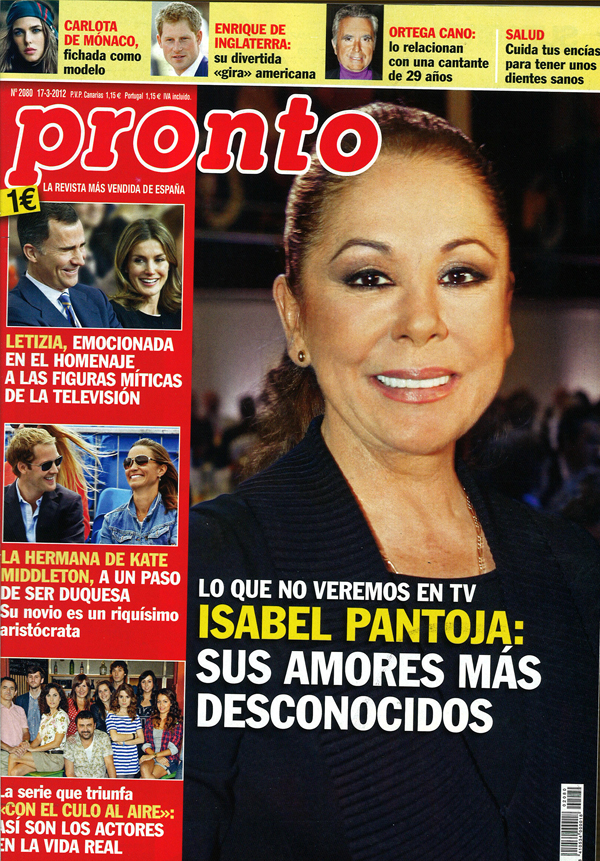PRONTO portada 12 marzo 2012