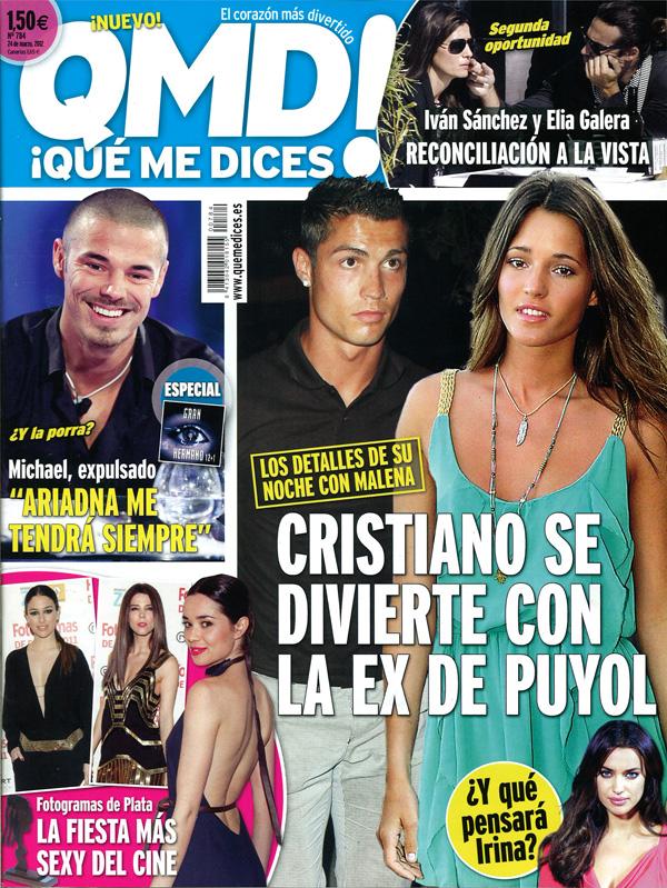 QUE ME DICES portada 19 marzo 2012