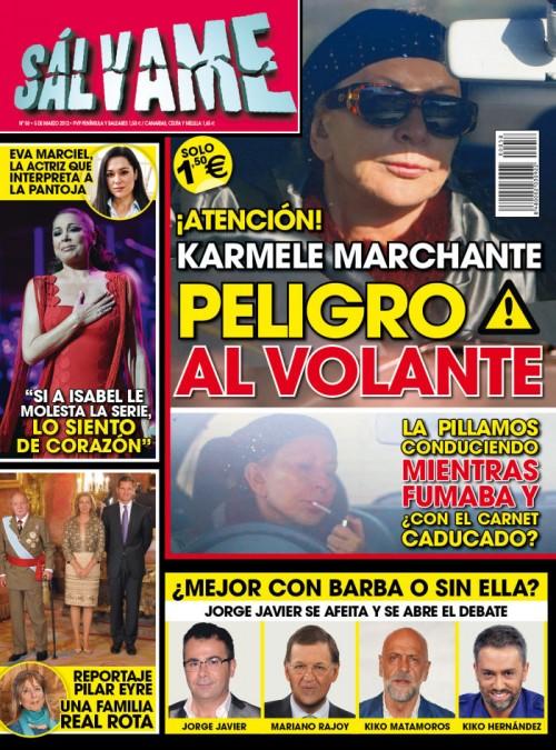 SALVAME portada 29 febrero 2012