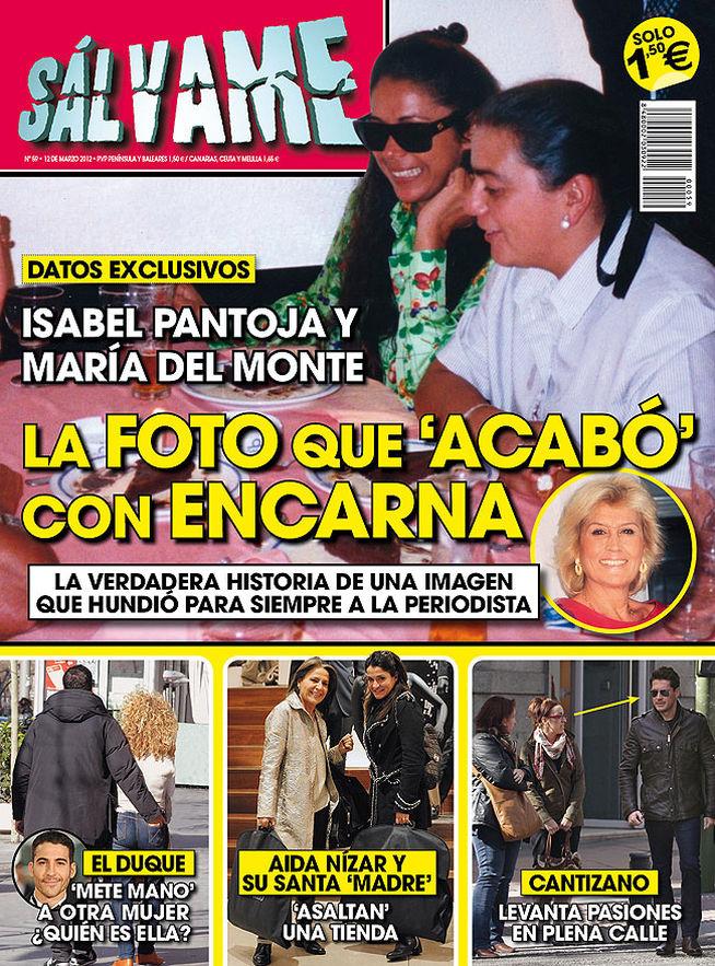SALVAME portada 6 marzo 2012