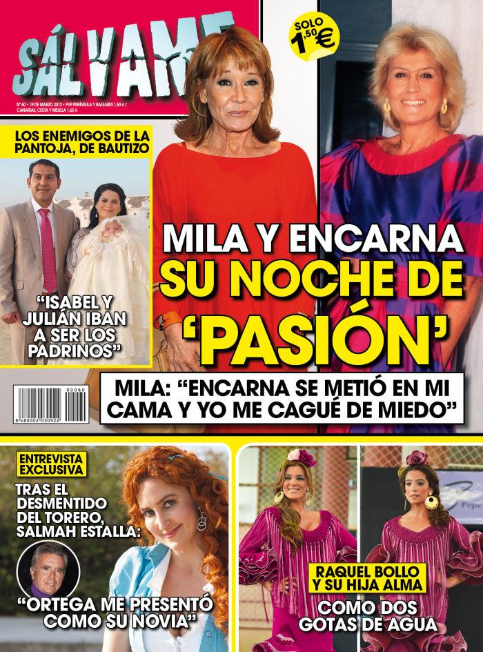 SALVAME portada 14 marzo 2012