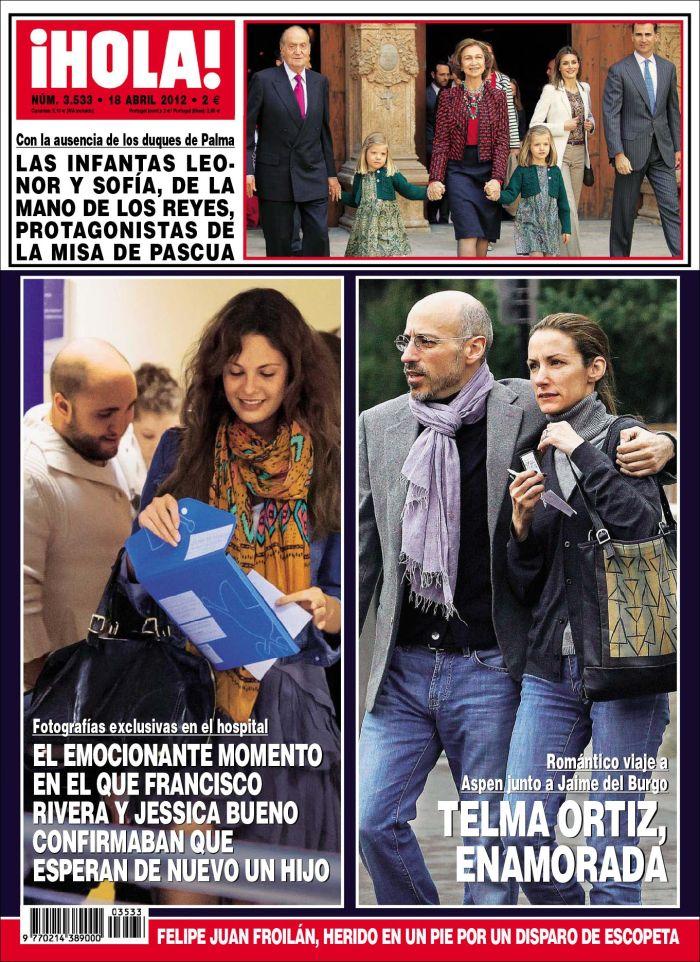 HOLA portada 11 abril 2012