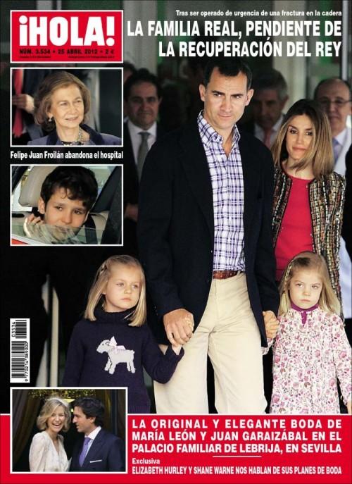HOLA portada 18 abril 2012