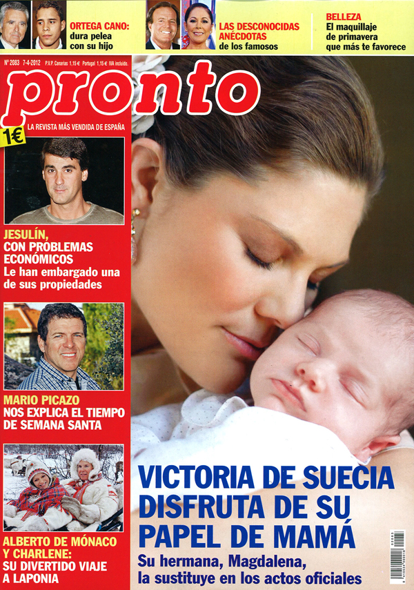 PRONTO portada 2 abril 2012