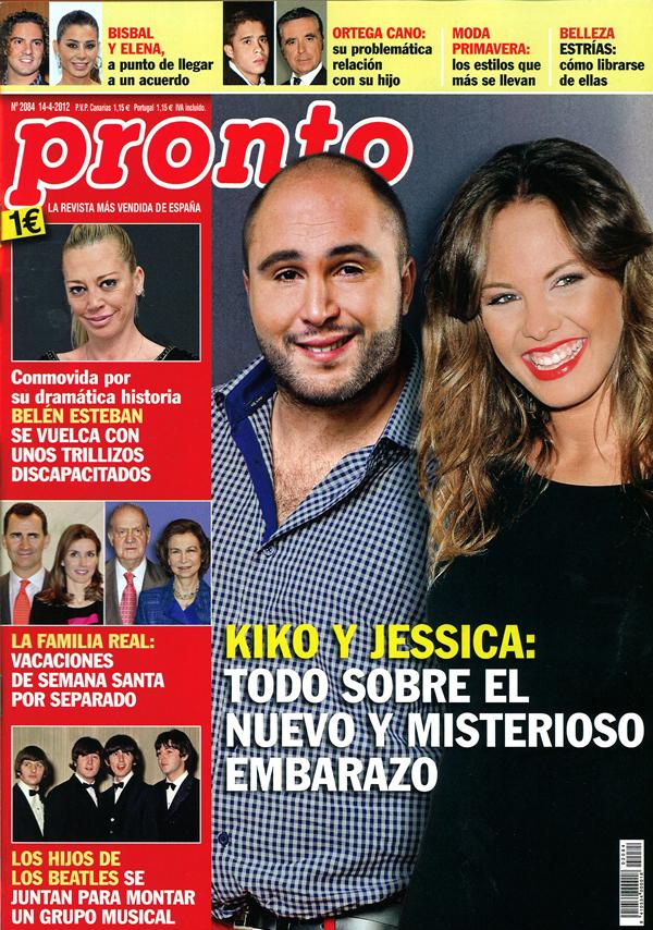 PRONTO portada 9 abril 2012