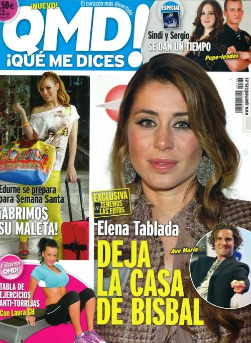 QUE ME DICES portada 2 abril 2012