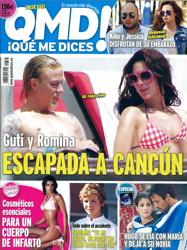 QUE ME DICES portada 16 abril 2012