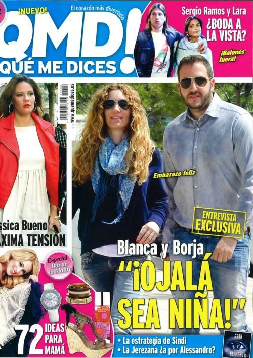QUE ME DICES portada 30 abril 2012