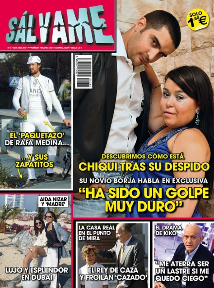 SALVAME portada 17 abril 2012