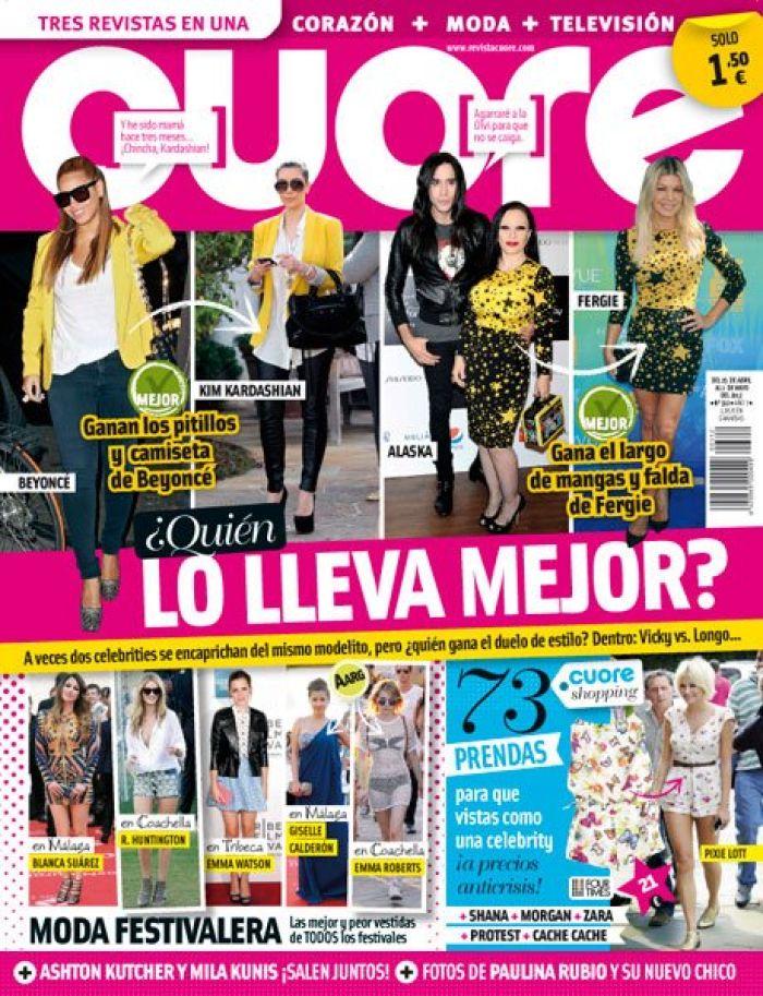 CUORE portada 2 mayo 2012