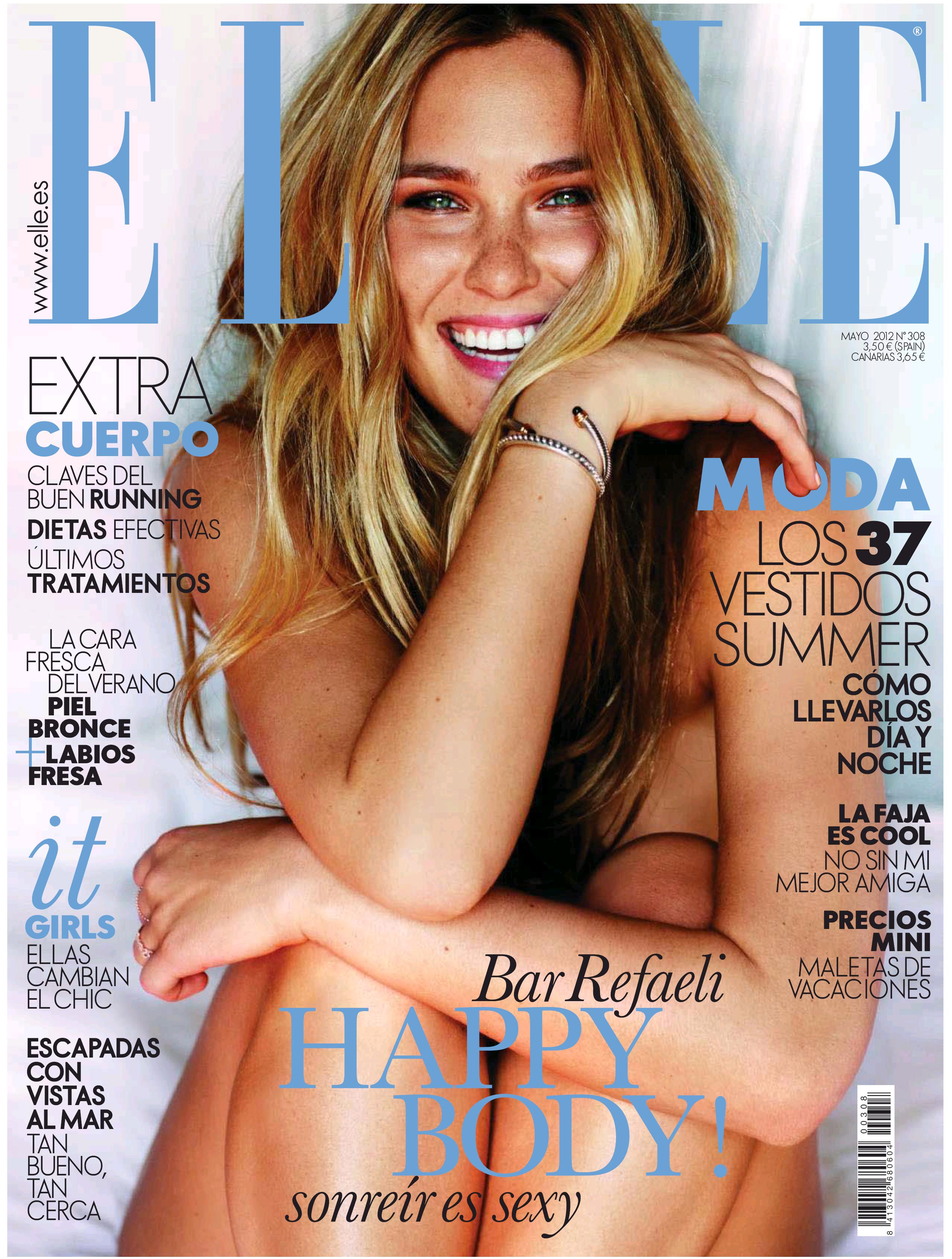 ELLE portada Mayo 2012