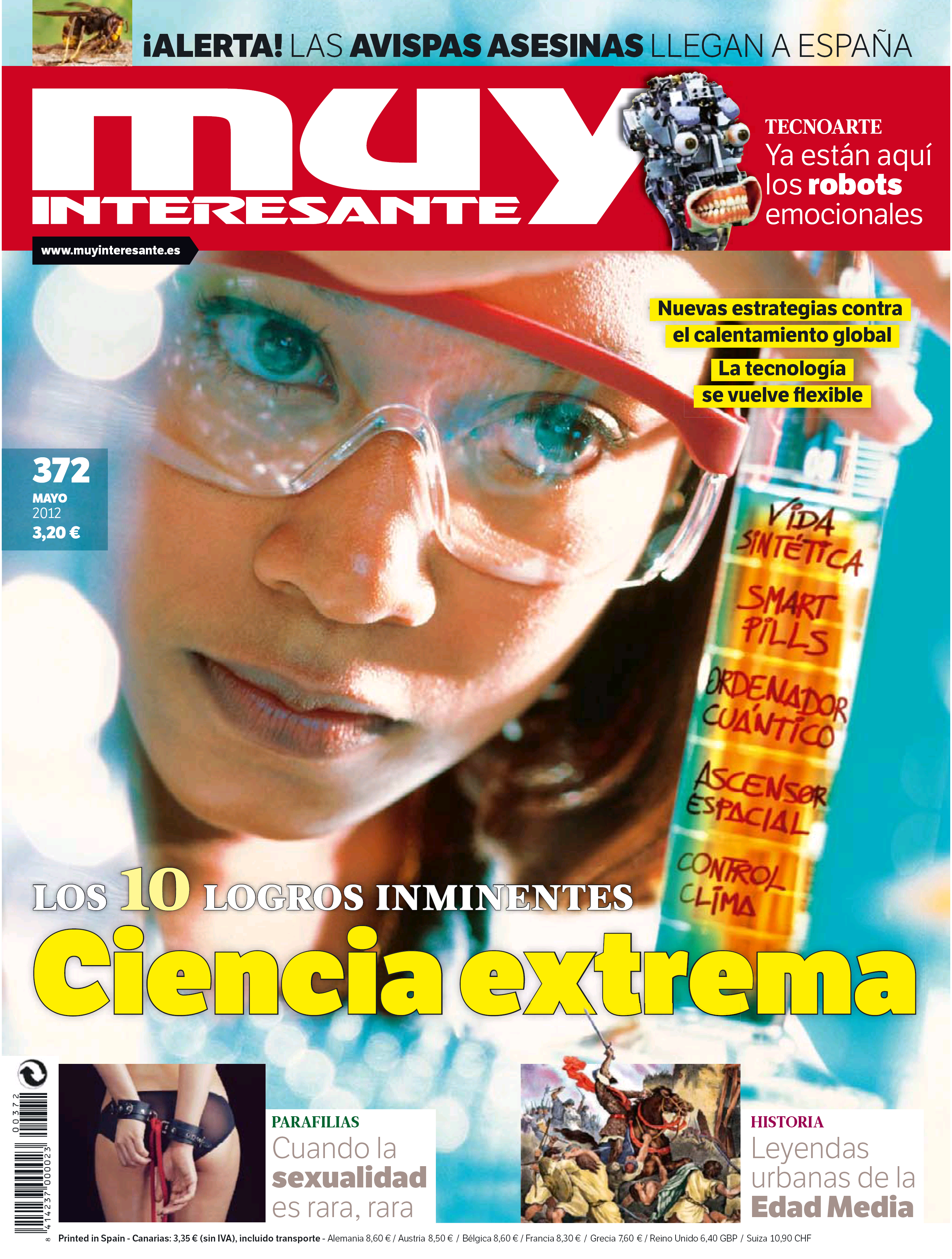 MUY INTERESANTE portada Mayo 2012