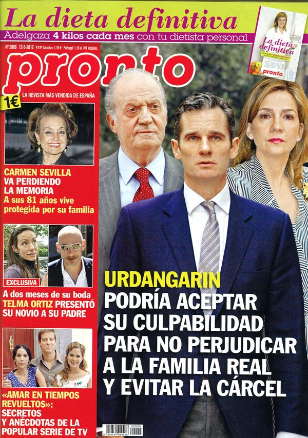 PRONTO portada 7 mayo 2012
