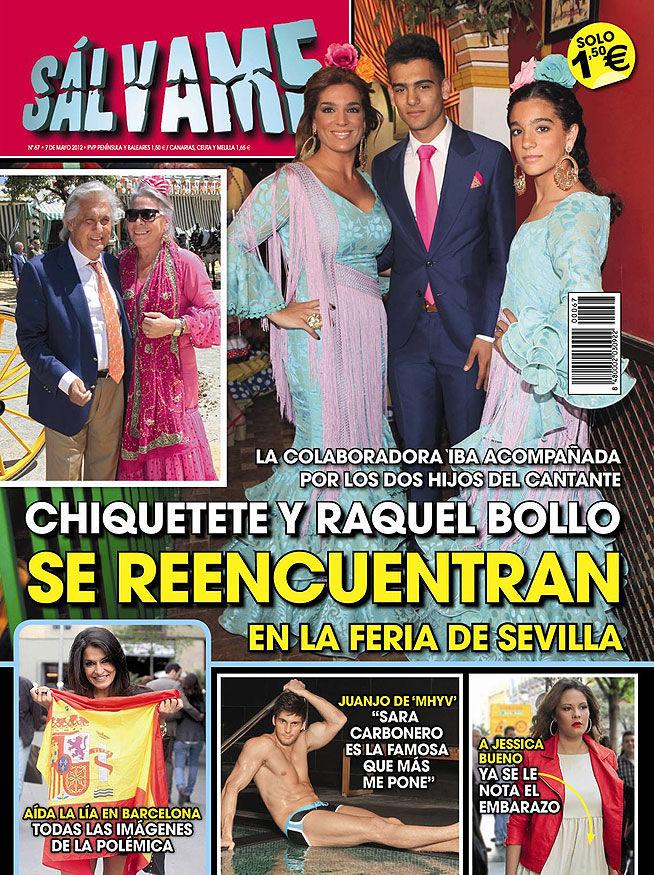 SALVAME portada 02 mayo 2012