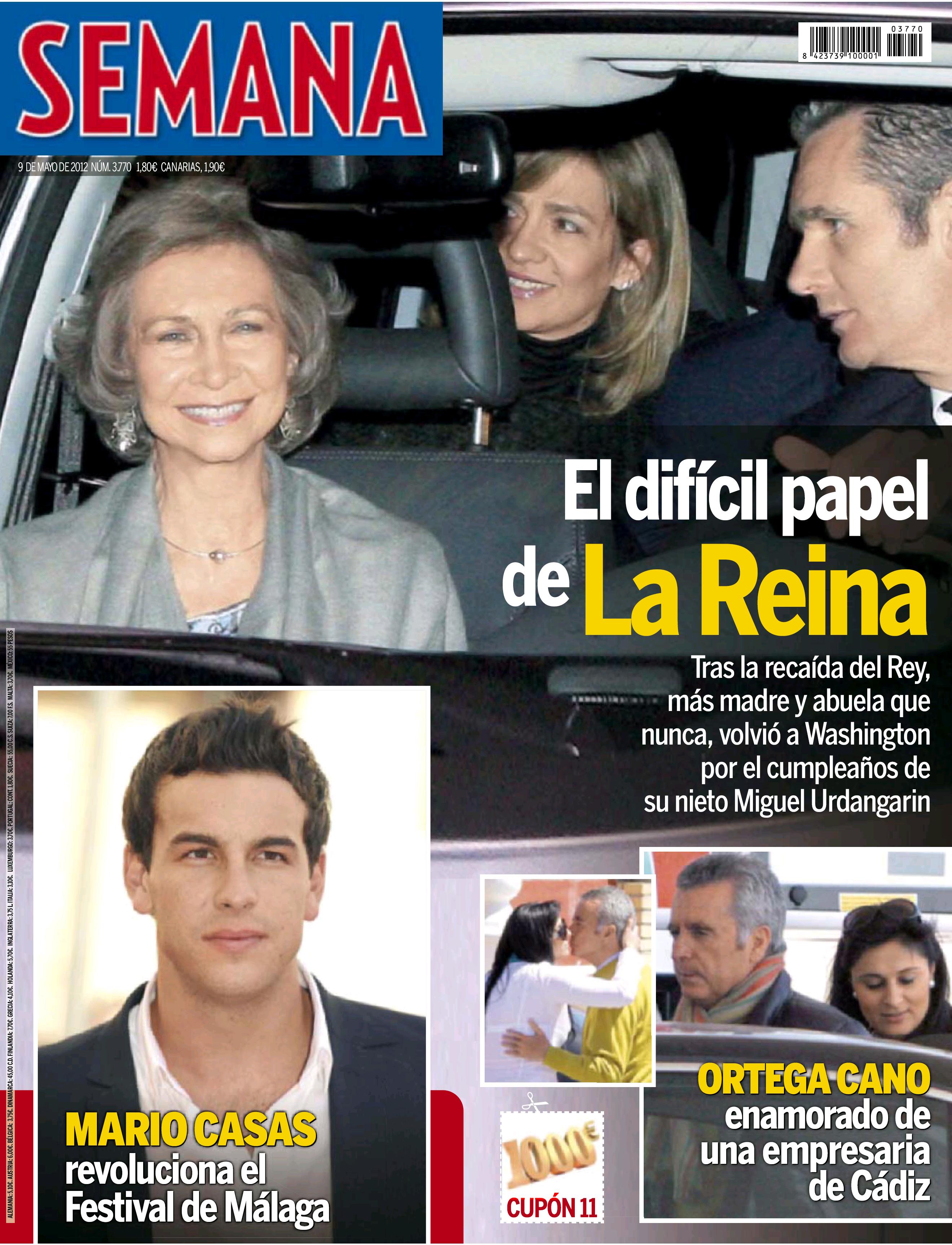 SEMANA portada 2 mayo 2012