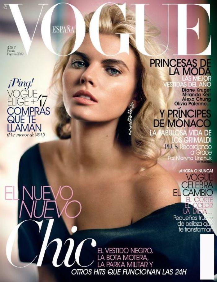 VOGUE portada Enero 2012