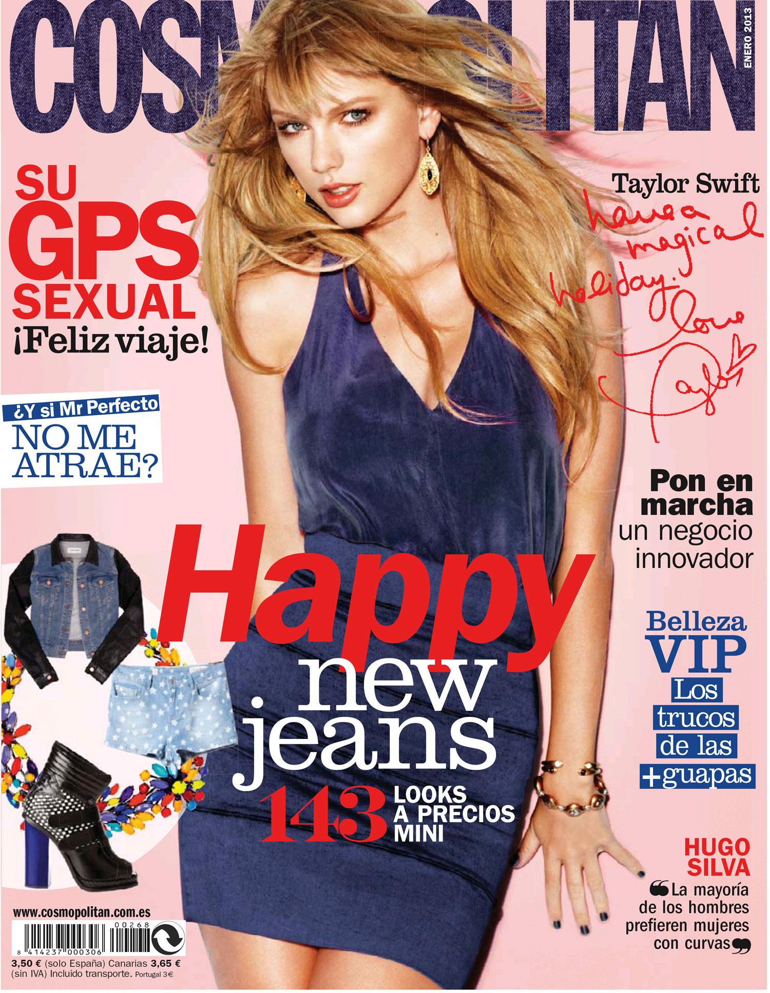COSMOPOLITAN portada Enero 2013