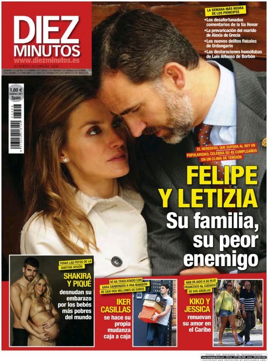 DIEZ MINUTOS portada 23 enero 2013