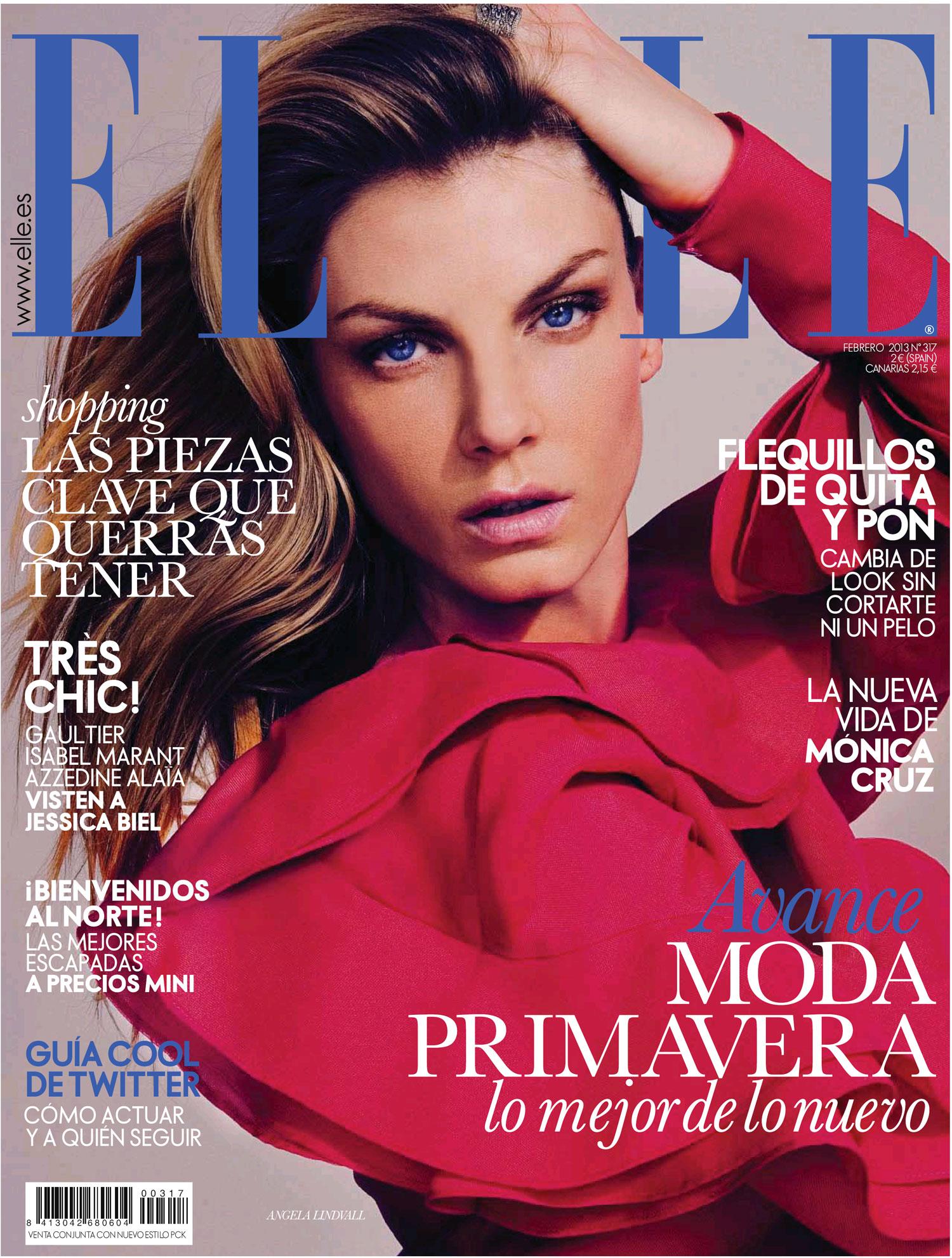 ELLE portada febrero 2013