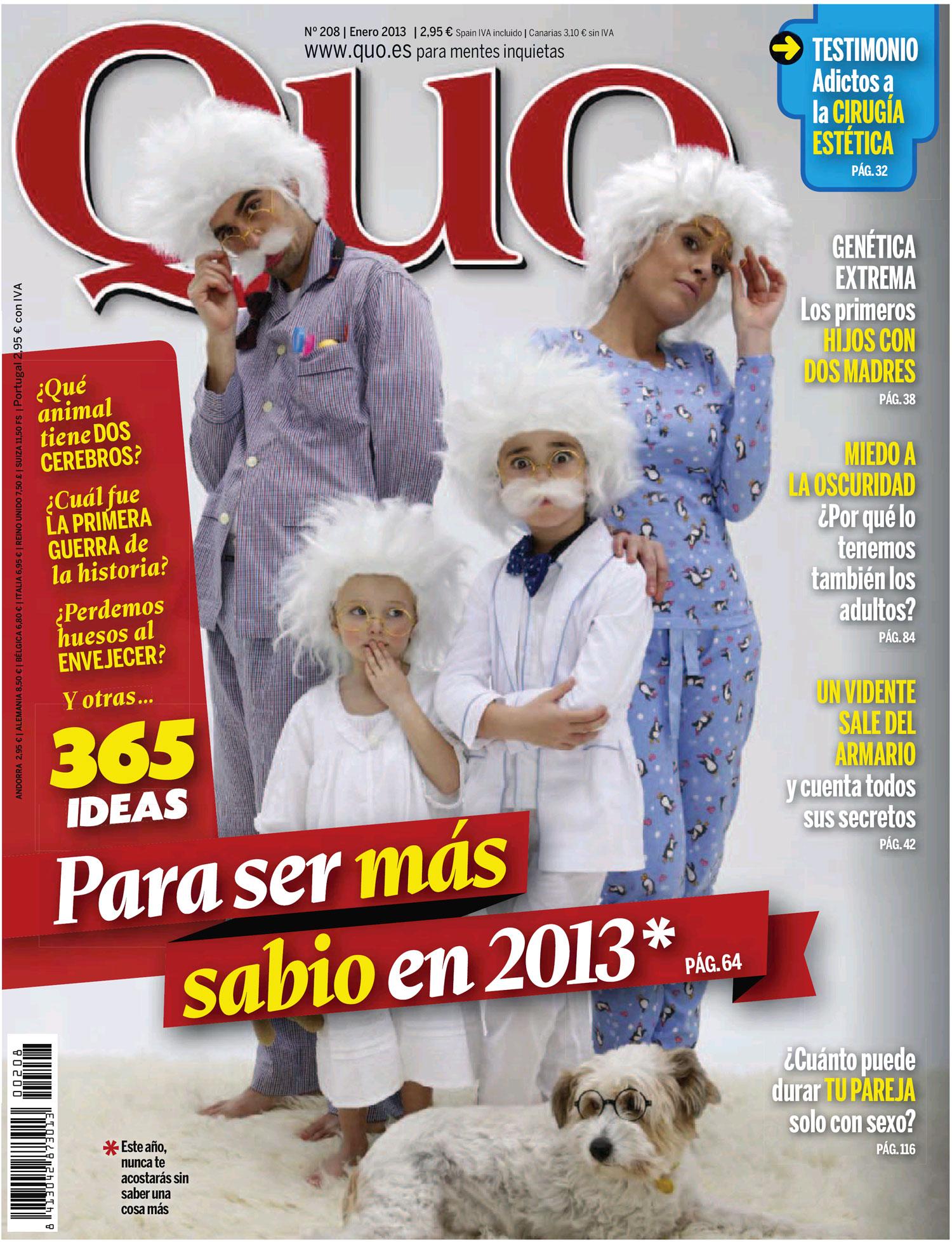 QUO portada Enero 2013