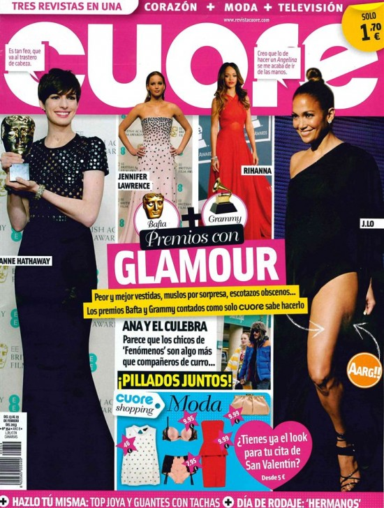 CUORE portada 13 de febrero 2013