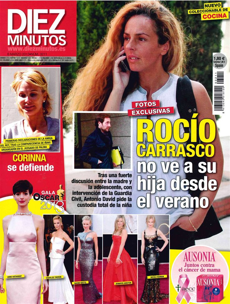 DIEZ MINUTOS portada 27 de febrero 2013