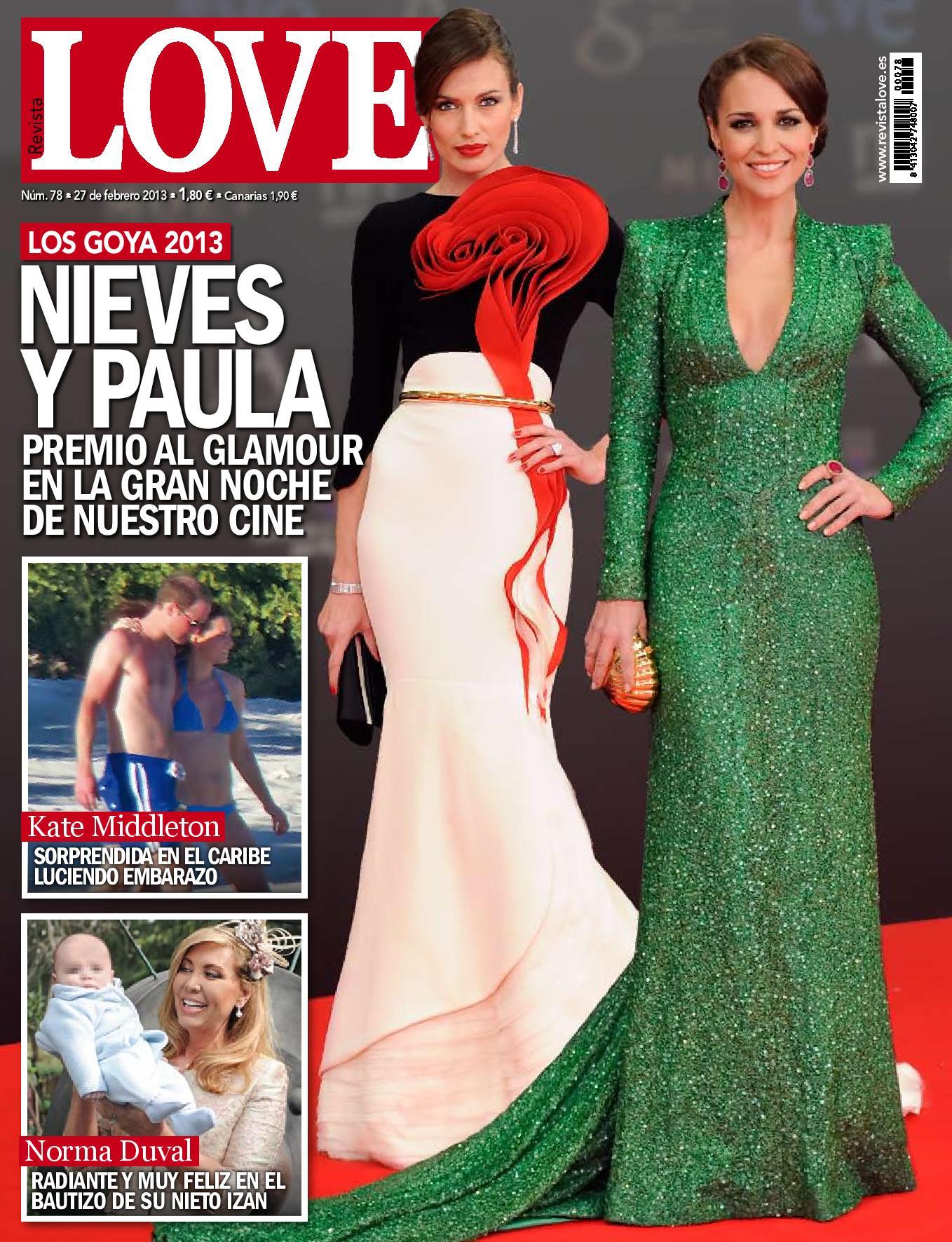 LOVE portada 19 de febrero 2013