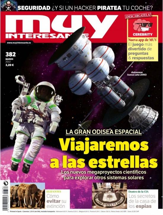 MUY INTERESANTE portada marzo de 2013